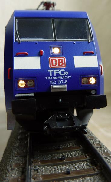 """Trix 22679 (152 137-6 """"TFG Albatros Express"""") --->> Märklin Umbau P11208501rkyf"""
