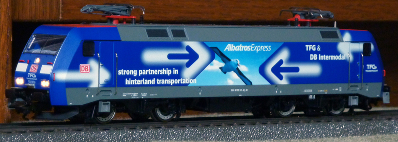 "Trix 22679 (152 137-6 ""TFG Albatros Express"") --->> Märklin Umbau P1120861xrjyy"