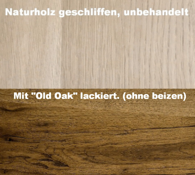 old oak holzlack lack beize 2in1 parkettlack treppenlack eiche effektlack patina ebay. Black Bedroom Furniture Sets. Home Design Ideas