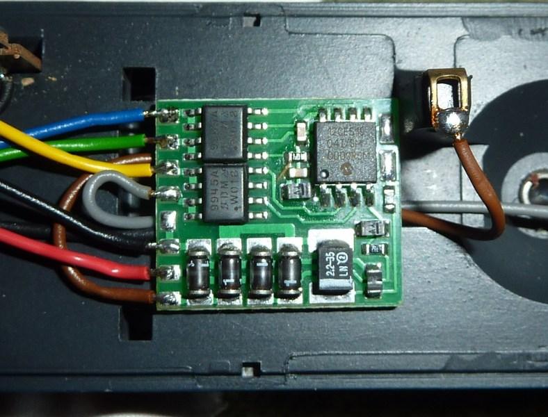 Märklin 3058 - 151 104-7 letzte Ausführung Baujahr 1990 P1150430y6qz4