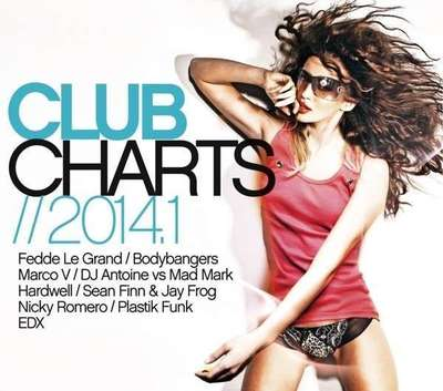 VA - Club Charts 2014.1 [3CD] (2014) .mp3 - V0