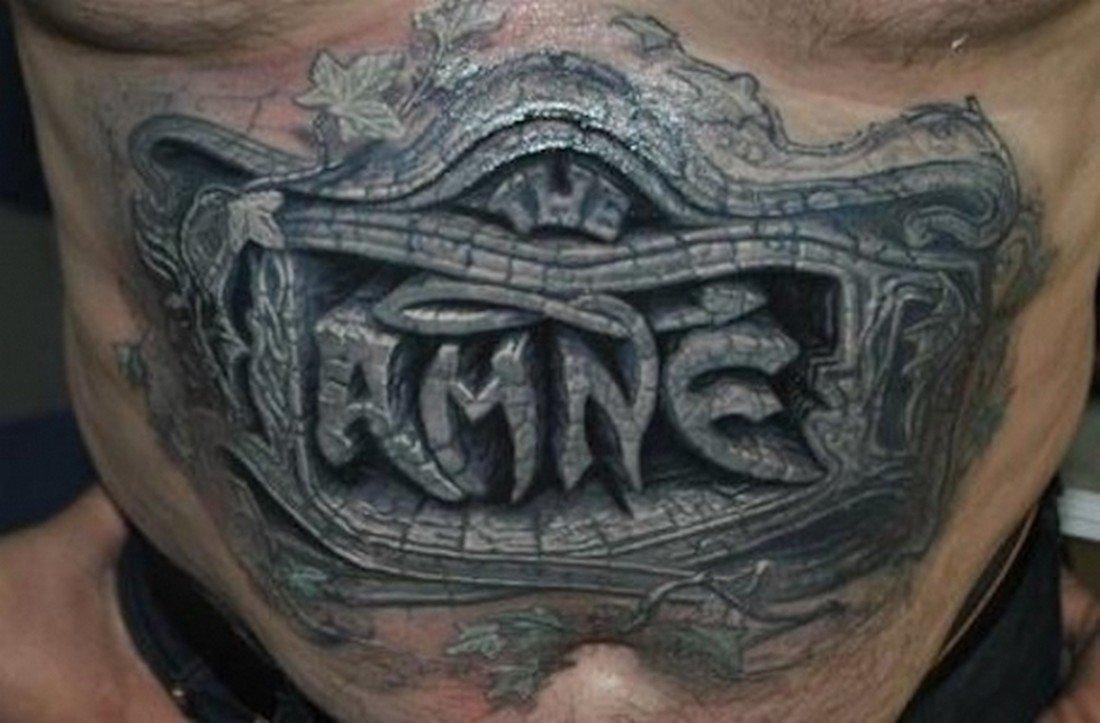 Realistyczne tatuaże #5 8
