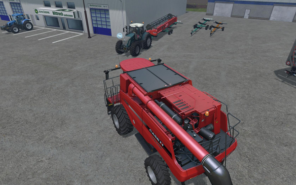 Pack cutter trailer Cochet V1
