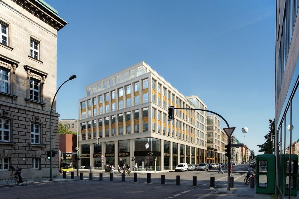 wilhelmstra e 56 59 the wilhelm berliner architektur. Black Bedroom Furniture Sets. Home Design Ideas