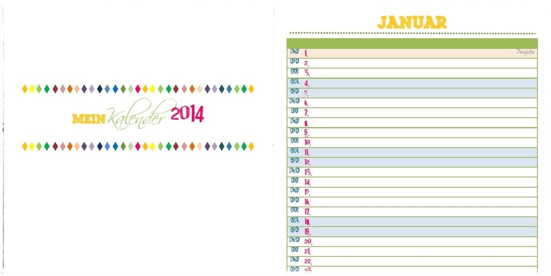 Kostenloser download kalender 2014