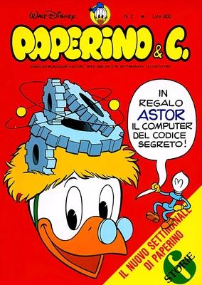 Walt Disney - Paperino & C. N. 2 (1981)