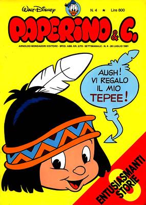 Walt Disney - Paperino & C. N. 4 (1981)