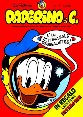 Walt Disney - Paperino & C. N. 5 (1981)