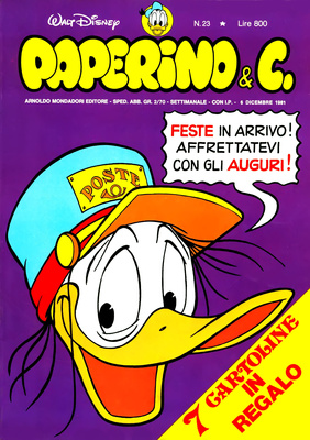 Walt Disney - Paperino & C. N. 23 (1981)