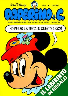 Walt Disney - Paperino & C. N. 27 (1982)