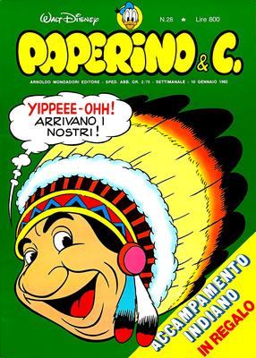 Walt Disney - Paperino & C. N. 28 (1982)