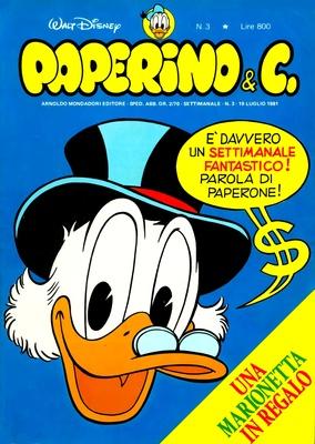 Walt Disney - Paperino & C. N. 3 (1981)