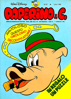 Walt Disney - Paperino & C. N. 32 (1982)