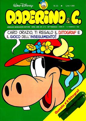 Walt Disney - Paperino & C. N. 33 (1982)