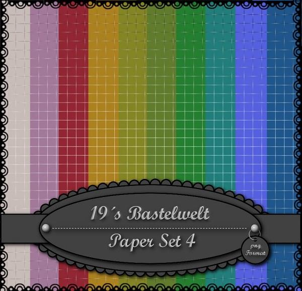 19´s Bastelwelt Paperset47hj7y