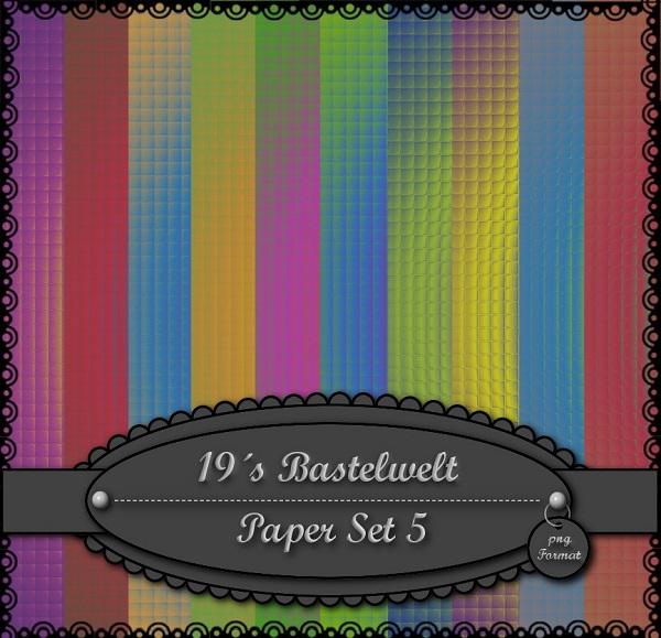 19´s Bastelwelt Paperset5vouzv