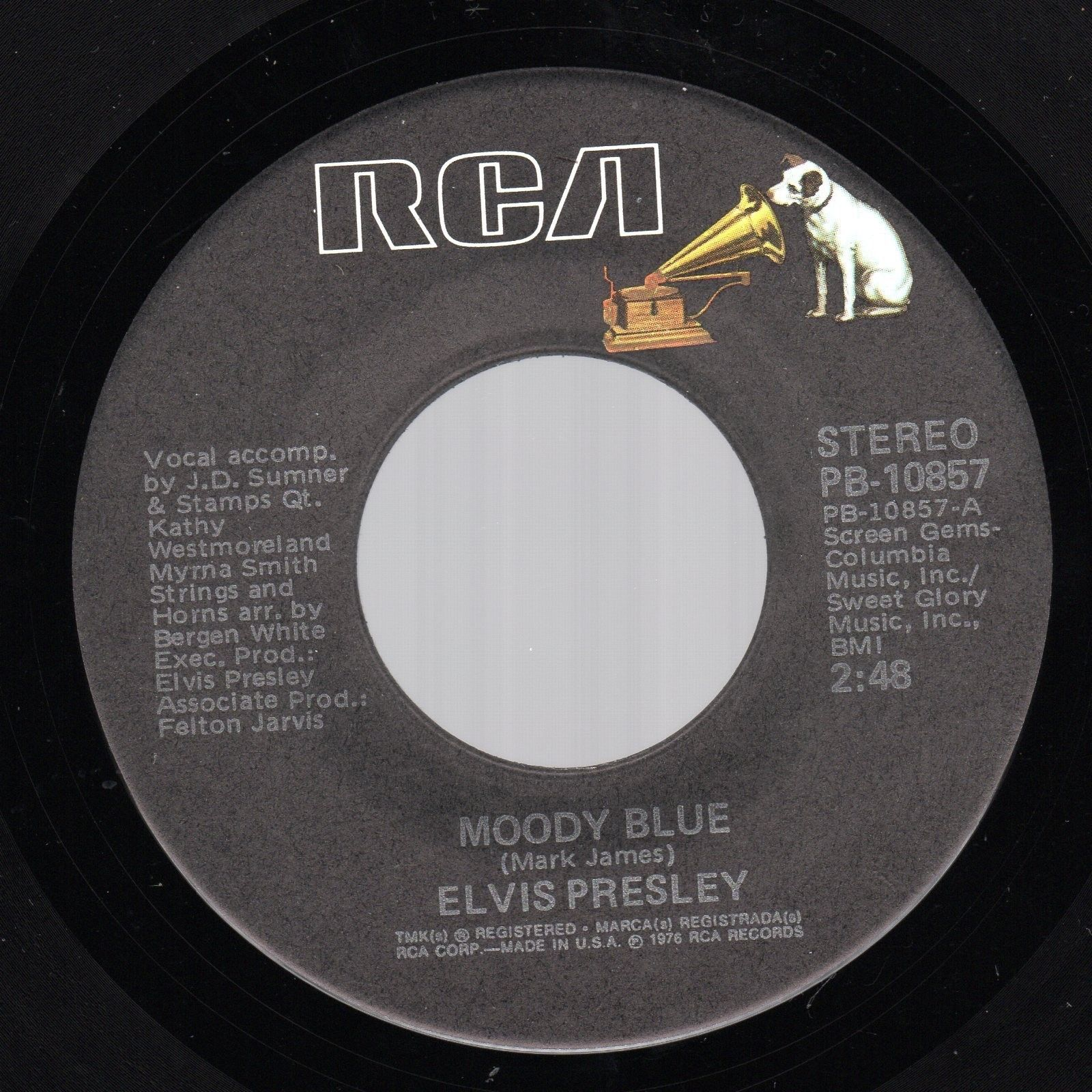 Moody Blue / She Thinks I Still Care Pb-10857c6ox0s