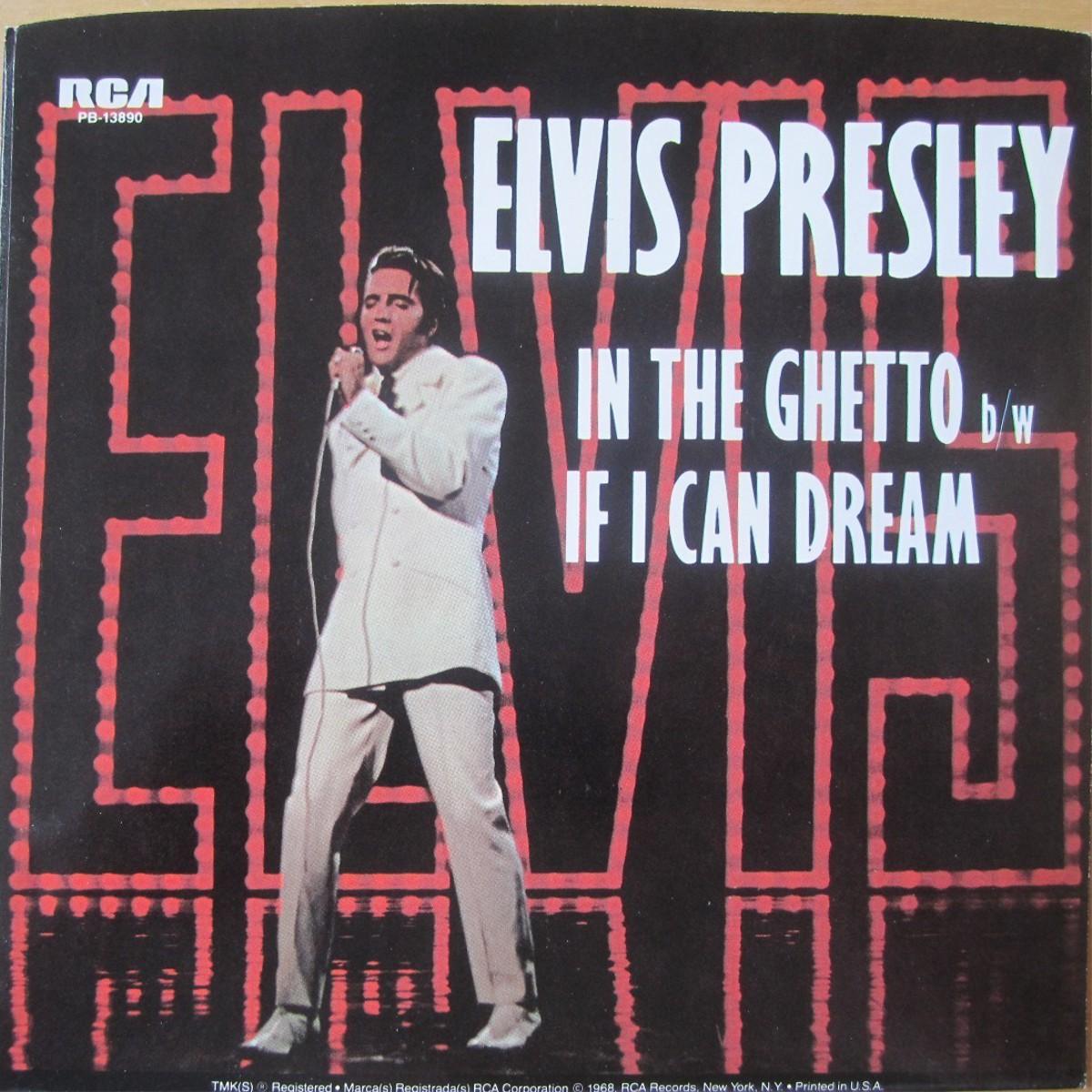 In The Ghetto / If I Can Dream Pb-13890aglu25