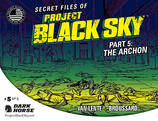 Secret Files of Project Black Sky #0-5 (of 05) (2014) Complete