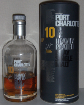 Port Charlotte 10 'Heavily Peated' Flasche