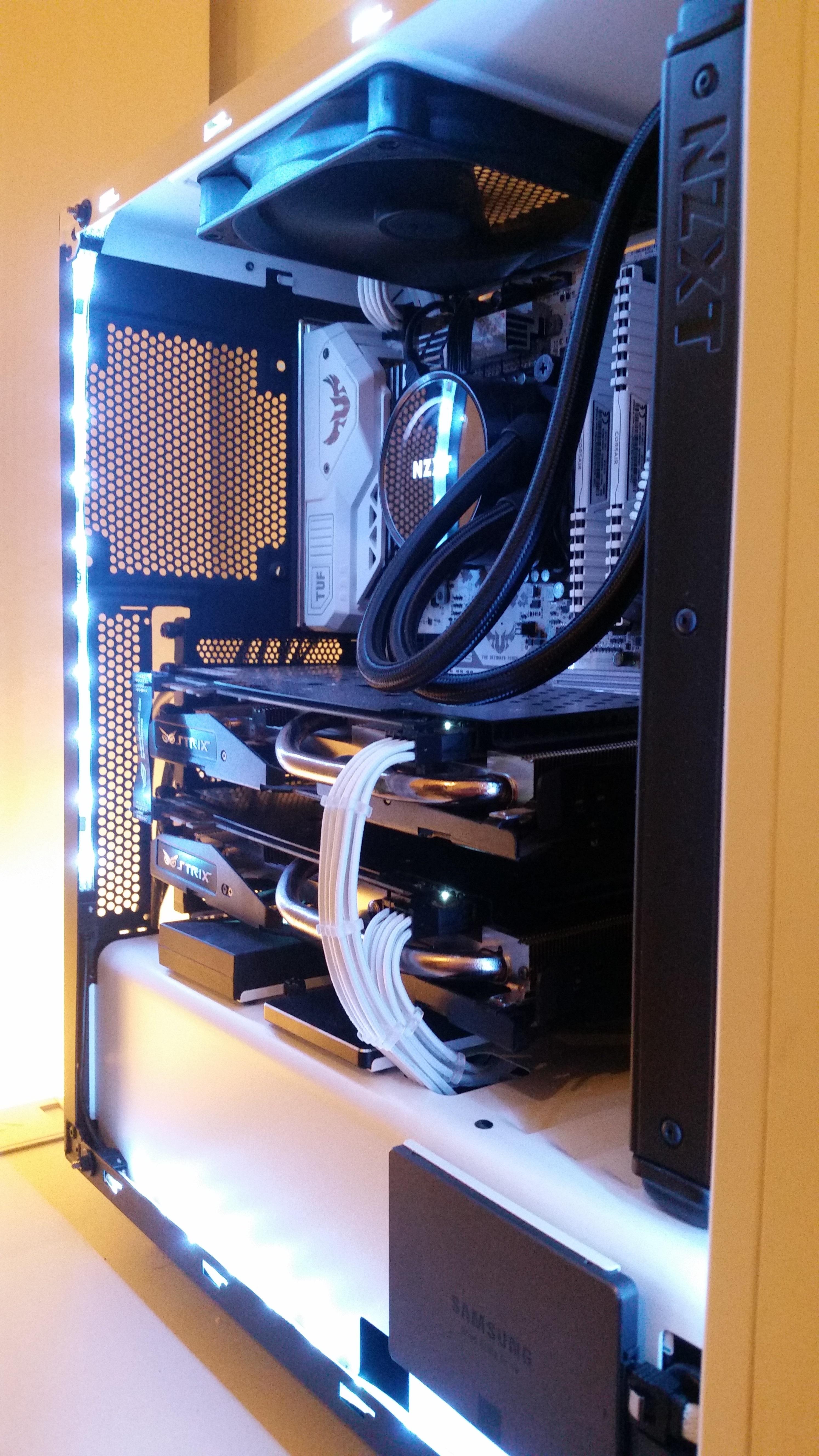 Alt: Mit ASUS Strix GTX 970 SLI (Testweiser SLI-Verbund, mit der Grafikkarte von einem Freund)