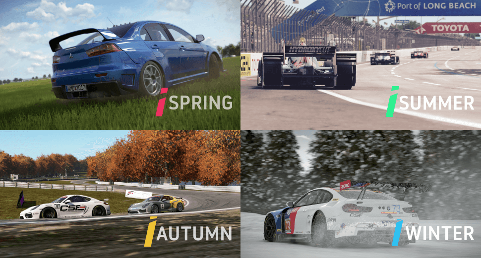 All Tracks Are Affected By Four Seasons Of Weather Spring Summer Autumn And Winter The Effects Vary Accordingly Dependant On Season You