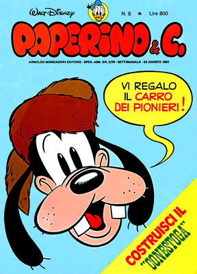 Walt Disney - Paperino & C. N. 8 (1981)