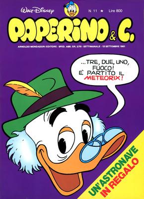 Walt Disney - Paperino & C. N. 11 (1981)