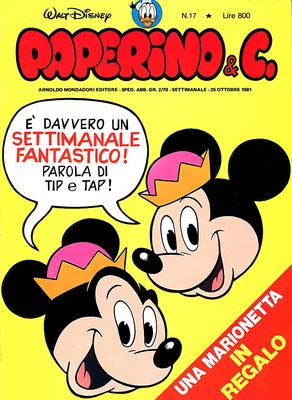 Walt Disney - Paperino & C. N. 17 (1981)