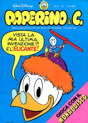 Walt Disney - Paperino & C. N. 18 (1981)