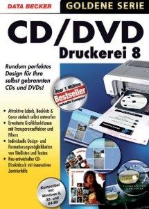 Data Becker v8 Cd-Dvd Druckerei