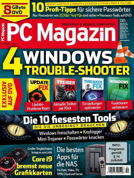 PC Magazin April No 04 2018