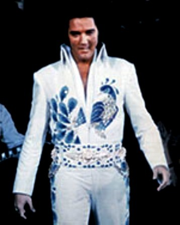 12 Peacock Jumpsuit Rex Martin S Elvis Moments In Time
