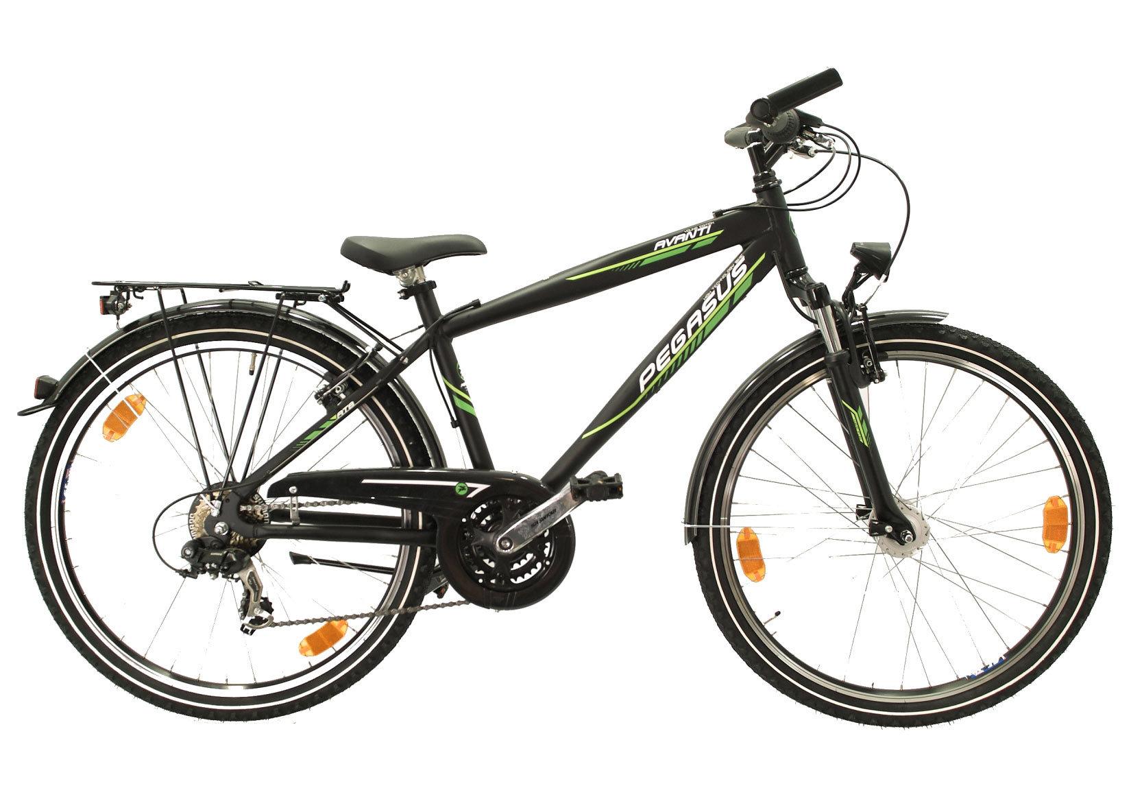 jugend fahrrad pegasus avanti 26 zoll shimano 21 g schwarz. Black Bedroom Furniture Sets. Home Design Ideas