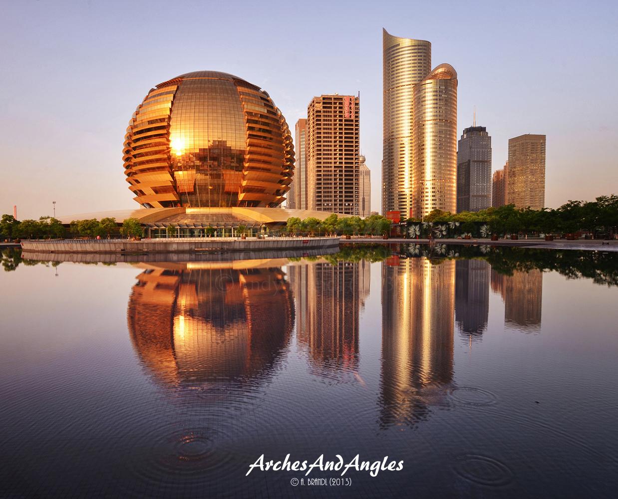 China shanghai und hangzhou deutsches architektur forum - Hangzhou congress center ...