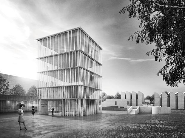 erweiterung bauhaus archiv seite 2 deutsches architektur forum. Black Bedroom Furniture Sets. Home Design Ideas