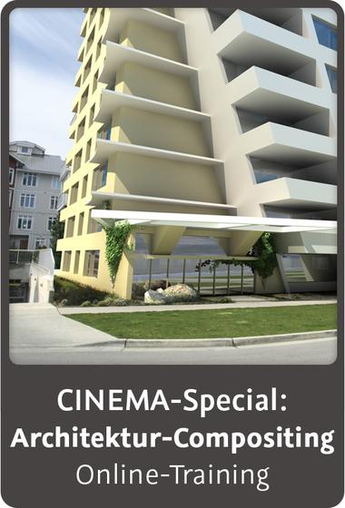 Video2brain cinema special architektur for Cinema 4d architektur