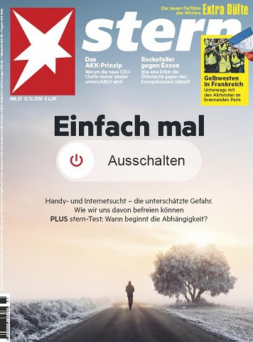 Der Stern Magazin No 51 vom 13 Dezember 2018