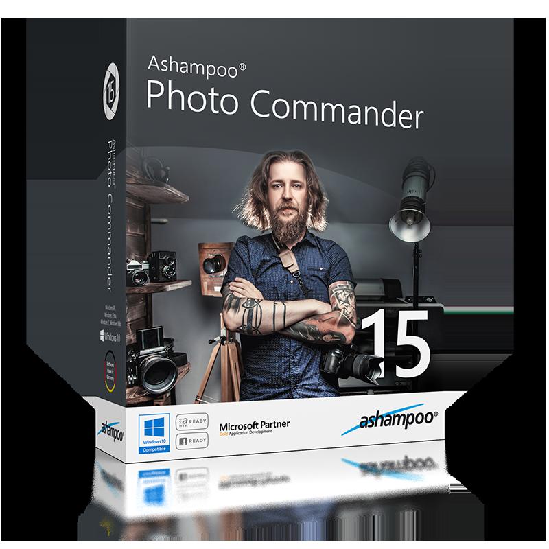 Ashampoo  Photo Commander 15.1.0 Multilanguage inkl.German