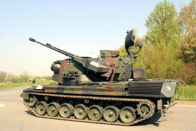 Metallkette AFV für Leopard 1 Gepard Bausatz Tamiya