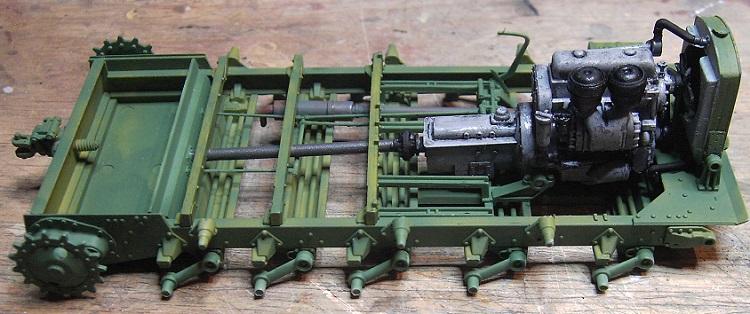 Soviet Artillery Tractor Ya-12 in 1:35 von MiniArt Pict40500qu2z