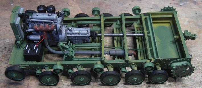 Soviet Artillery Tractor Ya-12 in 1:35 von MiniArt Pict4056cyu8m