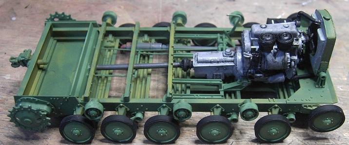 Soviet Artillery Tractor Ya-12 in 1:35 von MiniArt Pict40574guzw