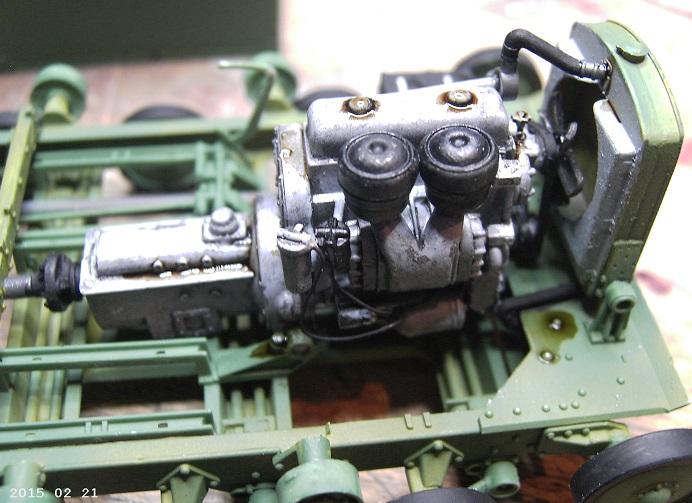 Soviet Artillery Tractor Ya-12 in 1:35 von MiniArt Pict4062awuzr