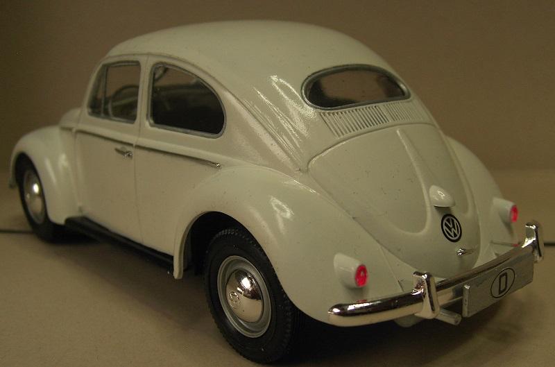 Volkswagen Käfer 1956 (Ovali) 1:24 von Gunze Sangyo aus 1989 Pict4358gdugj