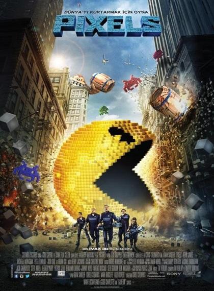 Pixels 2015  BRRip XviD AC3 Türkçe Altyazı – Tek Link