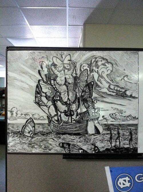 Sztuka na tablicy 13