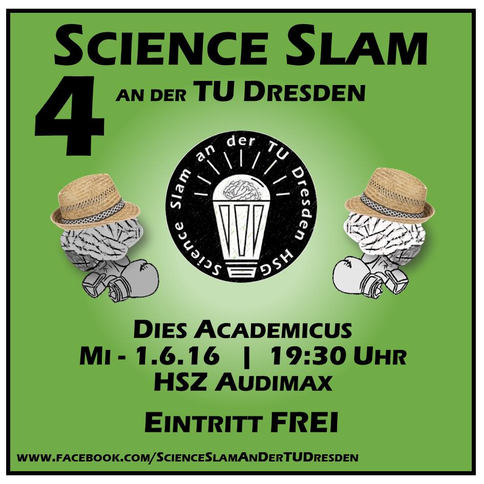 4. Science Slam an der TU Dresden