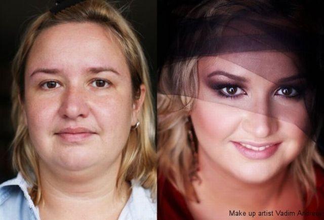 Kobiece metamorfozy: makijaż i retusz 2
