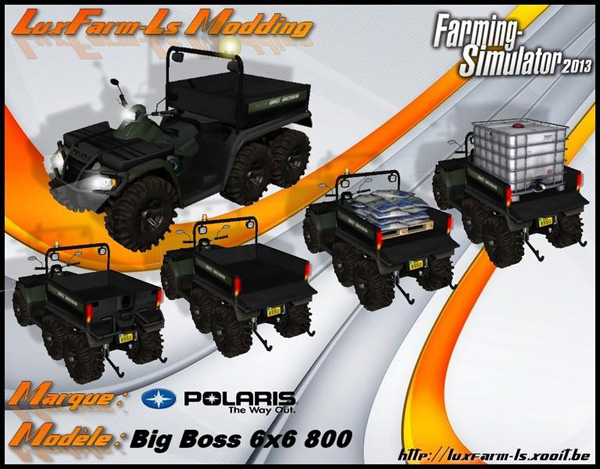 Polaris Quad 6X6 BigBoss v1.0